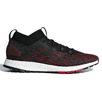 ADIDAS PUREBOOST RBL Mens Boost Running Shoes - Red / Black - Size 11.5