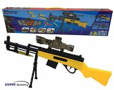 Toy Sniper Rifle Gun Shooting Soft Bullet Water Pistol - Perfect Gift For Child!