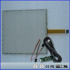 "5Wire Resistive Touch Screen Panel USB kit for 17"" monitor 17inch 355x288mm"