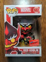 Funko POP! Marvel Red Goblin #682 NYCC 2020 Exclusive