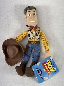 "Disney Pixar Woody & Hat 7"" Mini Buddies Toy Story Thinkaway NEW with Tags"