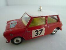 VINTAGE CORGI 317 MORRIS MINI COOPER S RALLY CAR MONTE CARLO ISSUED 1964-65