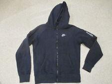 Nike blue zipped hoodie top adult size