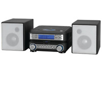 Home Stereo System CD/MP3 Player With Remote Alarm Clock AM/FM Radio LCD Display