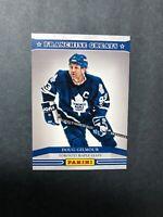 2013 Panini Franchise Greats #1 Doug Gilmour Toronto Maple Leafs Captain Insert