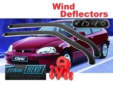 HONDA CIVIC 1995 - 2000 3.doors HATCHBACK Wind deflectors 2.pc  HEKO  17106