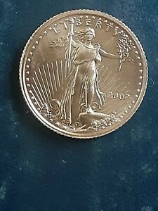 2007 $5 Gold US Coin