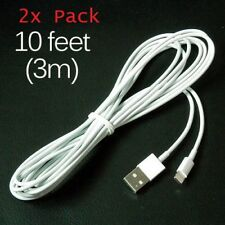 iPhone Cable 10FT Lightning 2 PACK 3M MFI Charger LONG THICK Apple iPhone 6 X 11