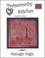 10% Off Praiseworthy Stitches Counted X-stitch chart - Midnight Fright