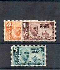 SPANISH SAHARA  Sc 62-4(SG 85-7)*VF LH FRANCO SET $100
