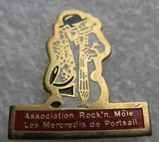 Pin's Association Rock'n Môle Les mercredis de PORTSALL #1834