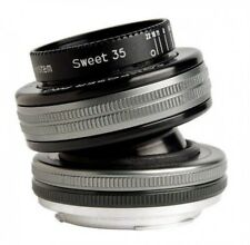 Lensbaby Nikon F Mount Tilt Lens Composer Pro II Sweet 35 Fast Ship Japan EMS