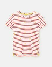 Joules Womens 213013 Classic Crew With Chain Stitch Detail - Sunnystrp