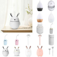 Mini Portable USB Air Diffuser Aroma Oil Humidifier Home Office Relaxing Defuser
