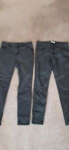 Ladies Sz 12 Jag & Witchery Black Jeans