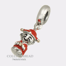 Authentic Pandora Silver & 14K Gold Fortune and Luck Dangle Bead 7916565ENMX