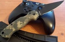 Spyderco Paramilitary 3 Folding Knife CPM S30V Blade Black Coat Camo G10 Handle