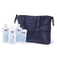CHICCO Borsa 24h Mum & Baby Natural Sensation 4 Detergenti +1 Fasciatoio Viaggio