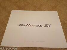 HATTERAS YACHTS - 45 EX SPORTFISH / CRUISER MARKETING BROCHURE - PRINTED 2015