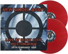 New Model Army LIVE AT ROCK CITY NOTTINGHAM UK 1989 - DLP Red Vinyl *IN STOCK*
