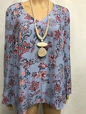SUSSAN SIZE 10 BOHO BELL SLEEVE TOP