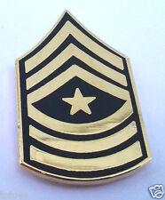 US ARMY RANK  E9 SERGEANT MAJOR SGM Military Veteran Hat Pin 14432 HO