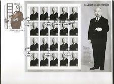 US SC # 3226 Alfred Hitchcock Pane Of 20. Artmaster Cachet