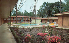 postcard USA  Motel Metz and Restaurant Baton Rouge Los Angeles  unposted