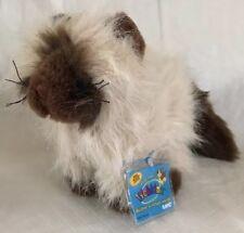 "Webkinz 8"" Himalayan Ganz, New Sealed Code Fluffy Kitty Cat Plush Toy"