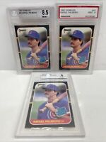 1987 Donruss Baseball Rafael Palmeiro Rated Rookie #43 Cubs PSA 9 BGS 8.5 & 6