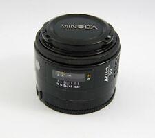 Minolta AF Maxxum 50mm f/1.4 Lens for Sony/Minolta A Mount Cameras