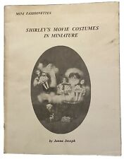 Shirley Temple Movie Costumes In Miniature Sewing Pattern Book