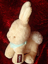 Rare Kaloo Bunny rabbit soft toy plush 2013 with blue neck tie 18cms