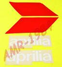 SERIE DECALCO KIT ADESIVI SERBATOIO APRILIA AF1 50 AE DEL 1986 BIANCO AP8211224