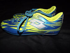 Lotto Green / Blue Men's Youth Soccer Cleats Shoes Size 4