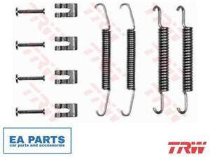 Accessory Kit, brake shoes for ABARTH FIAT LANCIA TRW SFK98