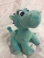 "Disney Sophia The First Blue Dragon Elephant 9"" Stuffed Animal"