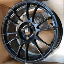 **CHIPPED** OZ Racing Ultraleggera Alloy Wheel Matt Black 17x7 Inch ET42 4x108