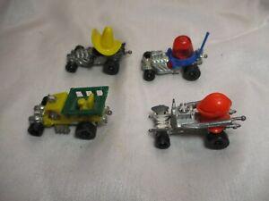 4-Vintage Mattel Hot Wheels Shell Version Zowees