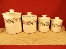 Citation China Castlegarden Collection 4 Pc Canister Set