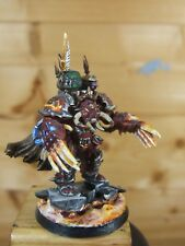 PLASTIC WARHAMMER CHAOS TERMINATOR LORD PAINTED (1339)