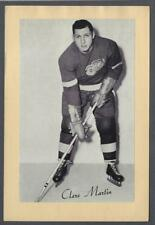 1944-63 Beehive Group II Detroit Red Wings Hockey Photos #192 Clare Martin