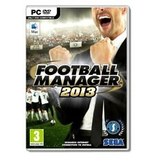 FOOTBALL MANAGER 2013 - Classic Sports Management Sim (MINT CONDITION, PC / MAC)