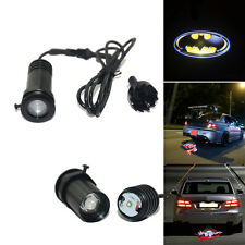 Batman shield CREE 3w Car rear brake LED logo shadow projector Tail light lamp