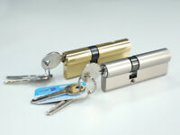 Euro Cylinder Door Barrel Lock Anti Drill Single Double Thumb Turn Extra Keys