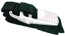 """Boat Marine Battery or Tie-Down Strap Black W/ Stainless Steel Buckle 1-1/2""""X62"""""""