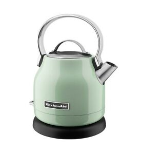 New KitchenAid Stainless Steel Electric Water Tea Kettle KEK1222PT Pistachio
