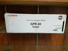 Canon GPR-20 Black Toner Cartridge Genuine OEM (UNOPENED) for  color imageRUNNER