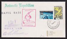 Australian Antarctic Territory 1972 Cover Nella Dan Expedition Davis Base Cancel