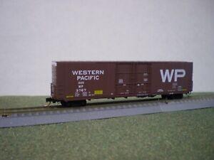 MICRO-TRAINS N WESTERN PACIFIC 60' DOUBLE DOOR BOX CAR